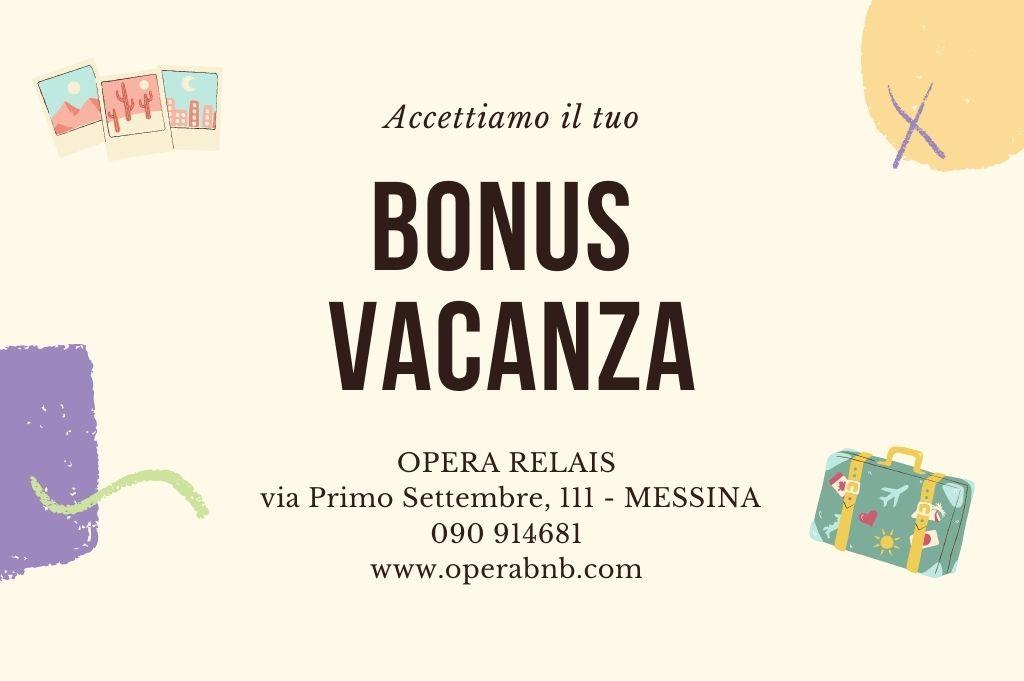 Bonus Vacanza Messina